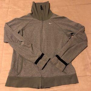 Nike fit-dry zip coat